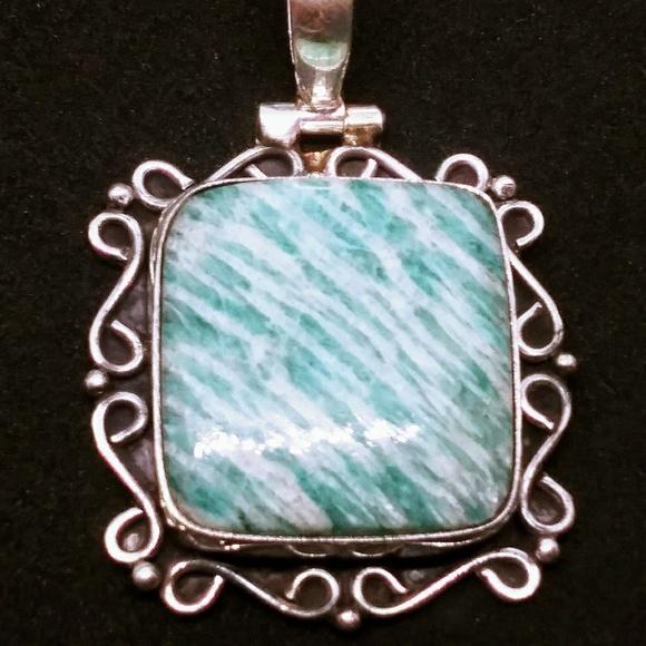 Jewelry - Amazonite pendant